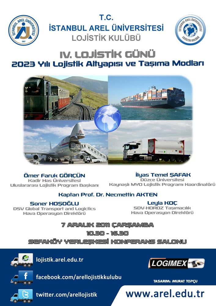 2023 Yılı Lojistik Altyapısı ve Taşıma Modları