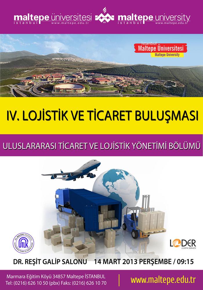 IV. Lojistik ve Ticaret Buluşması