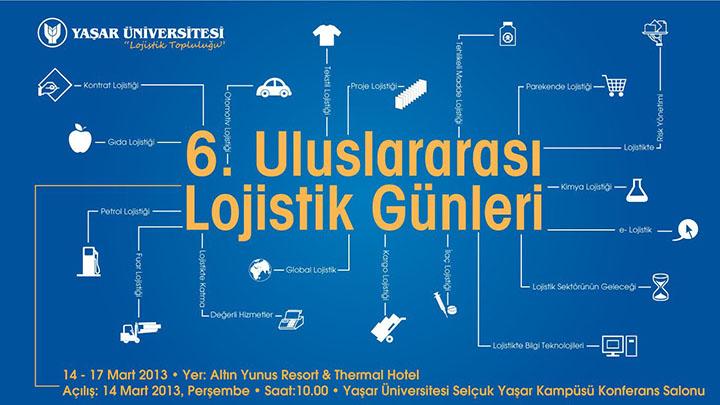 Yaşar Üniversitesi 6. Lojistik Günleri'13