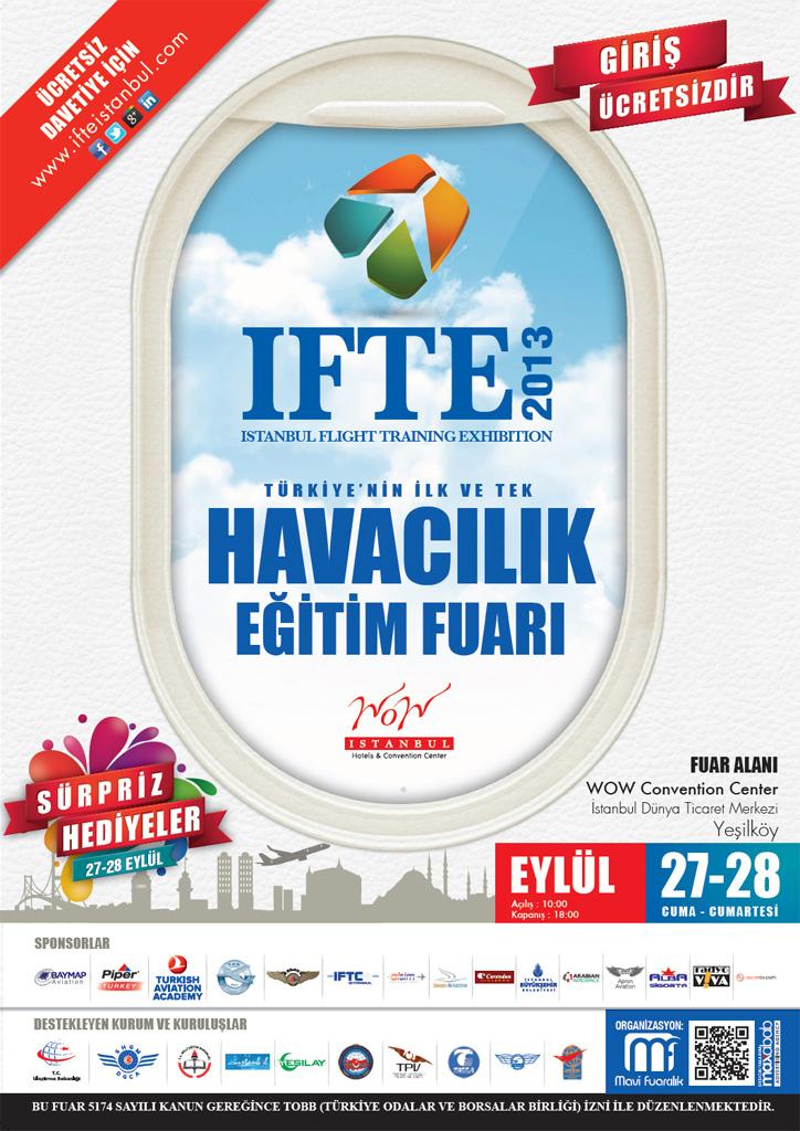 IFTE 2013 Havacılık Eğitim Fuarı